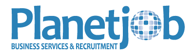 PlanetJob – Business Services & Recruitment Logo